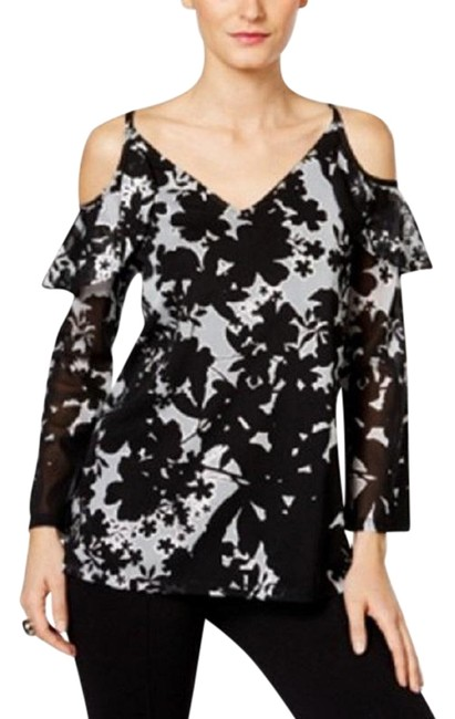 Preload https://img-static.tradesy.com/item/22648659/inc-international-concepts-black-and-gray-ruffled-open-shoulder-blouse-size-10-m-0-1-650-650.jpg