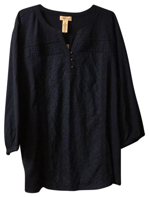 Style & Co Top navy