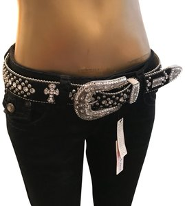 B.B. Simon B.B. Simon Swarovski Crystal Luxury Cross Belt NWT *RARE*