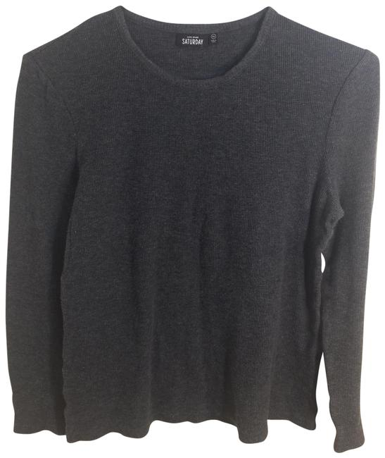 Preload https://img-static.tradesy.com/item/22648734/kate-spade-thermal-long-sleeve-shirt-gray-sweater-0-1-650-650.jpg