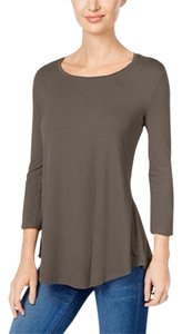 JM Collection Top brown/clay