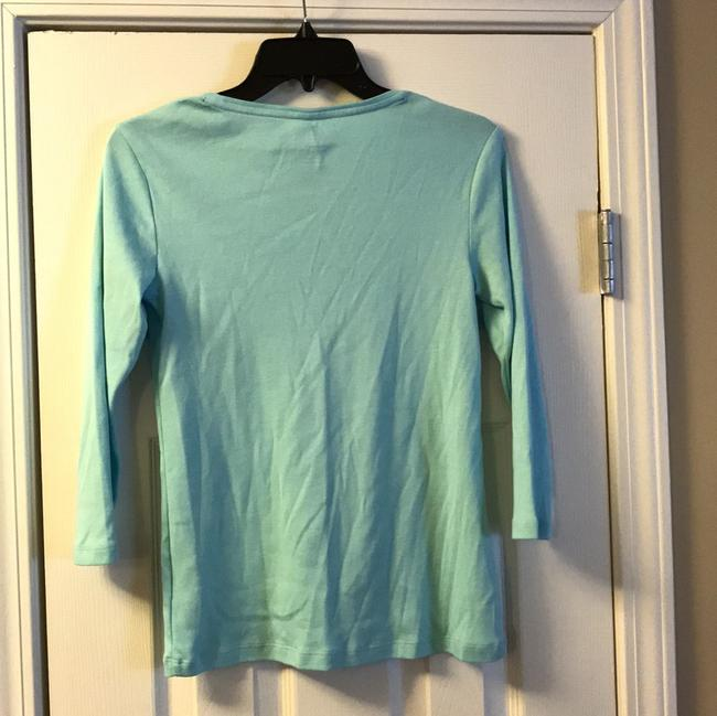 Charter Club T Shirt turquoise