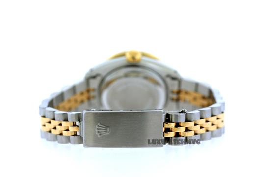 Rolex 1.8ct 26mm Datejust Gold S/S with Box & Appraisal Watch