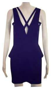 Mason by Michelle Mason Mini Micro-mini Ultra Mini Holiday Dress