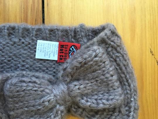 San Diego Hat Company Light Brown Bow Knit Headband