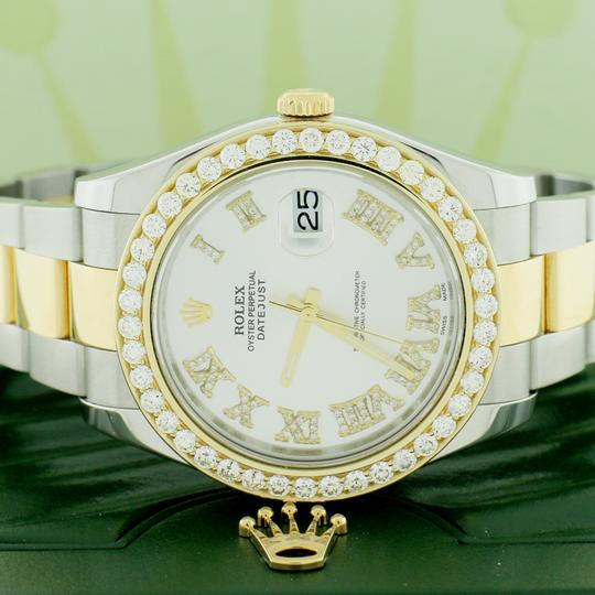 Rolex Rolex Datejust II 2-Tone 41MM w/Diamond Roman Dial and 3.07Ct Bezel