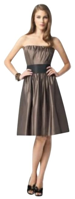 Item - Brown 2836....bridesmaid / Dress.....bailey......6 Mid-length Cocktail Dress Size 6 (S)