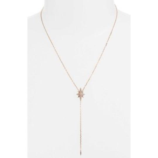 Michael Kors Michael Kors Brilliance Crystal and Stainless Steel Starburst Pave Y-Necklace