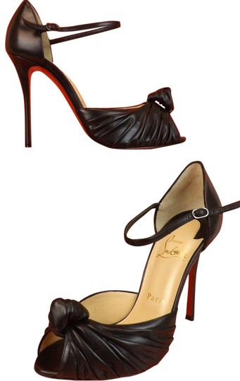 Preload https://img-static.tradesy.com/item/22649442/christian-louboutin-black-marchavekel-100-leather-knotted-d-orsay-pumps-sandals-size-eu-41-approx-us-0-1-540-540.jpg