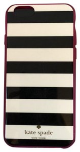 Kate Spade Black and White Striped iPhone 6 case