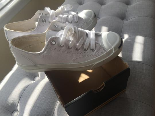Converse Leather Jack Purcell Sneakers Normcore White Athletic