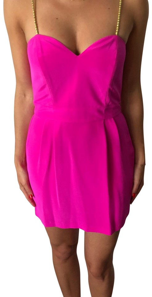 many styles best deals on save up to 60% Naven Hot Pink Bombshell Short Cocktail Dress Size 8 (M)