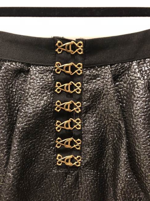 Leifsdottir Sparkle Sparkly Party Special Occassion Mini Mini Skirt Charcoal