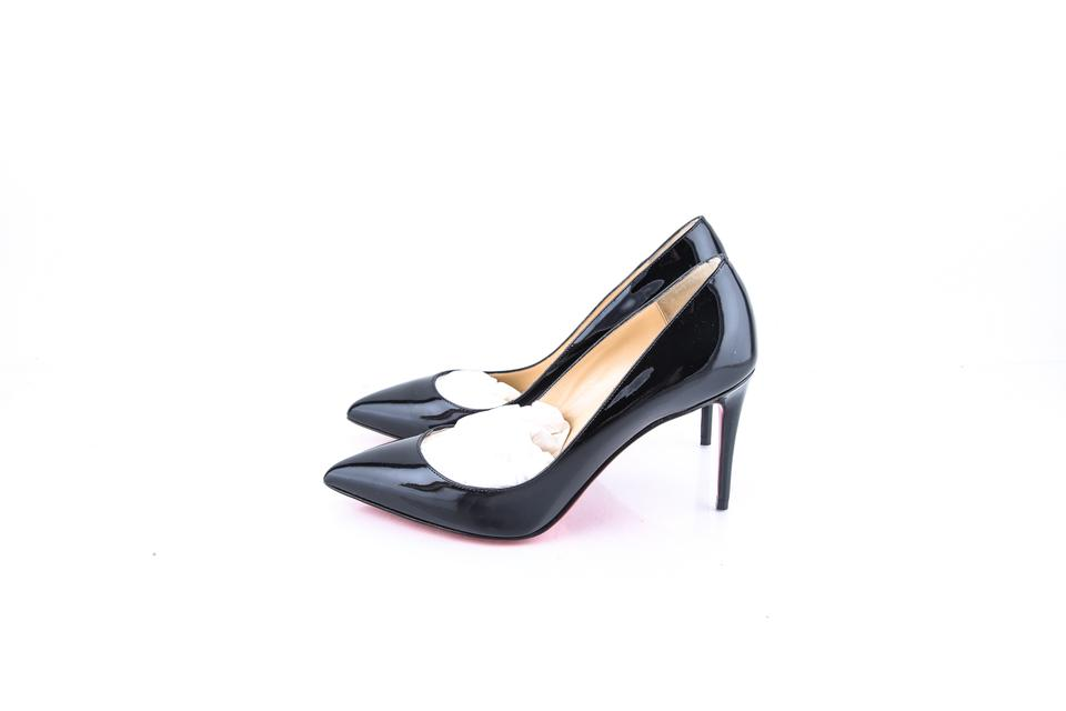 online store 4e7d2 90d27 Christian Louboutin Pigalle 85mm Black Patent Leather Pumps Size US 7.5  Regular (M, B) 9% off retail