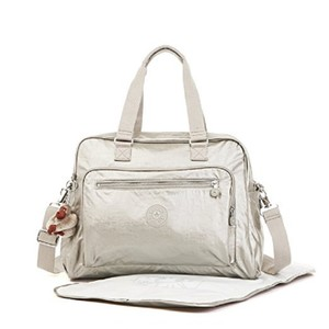 Kipling grey Diaper Bag