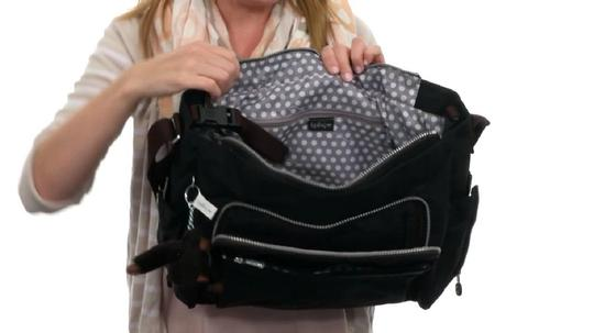 Kipling black Diaper Bag