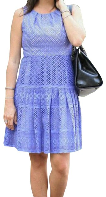 Preload https://img-static.tradesy.com/item/22650157/shoshanna-periwinkle-eyelet-fit-and-flare-cocktail-dress-size-0-xs-0-2-650-650.jpg