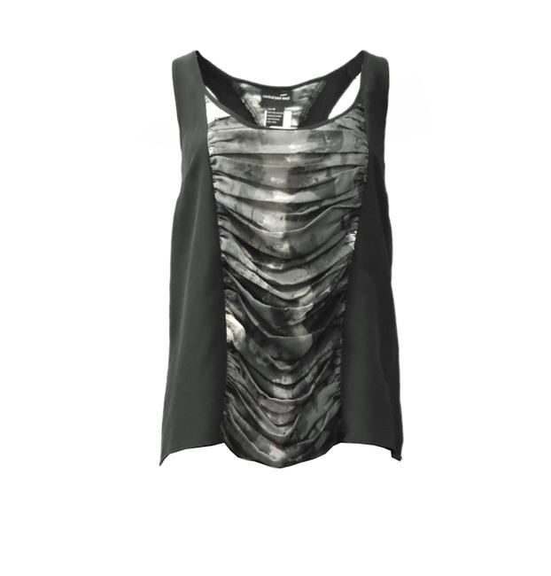 Preload https://img-static.tradesy.com/item/22650188/central-park-west-black-ruched-center-tank-topcami-size-8-m-0-0-650-650.jpg