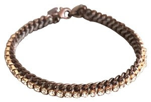 Stella & Dot Rose gold pav bracelet