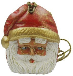 Timmy Woods Santa Claus Carved multi Clutch
