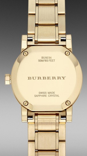 Burberry Brand New and Authentic Burberry Gold Women's Watch BU9234