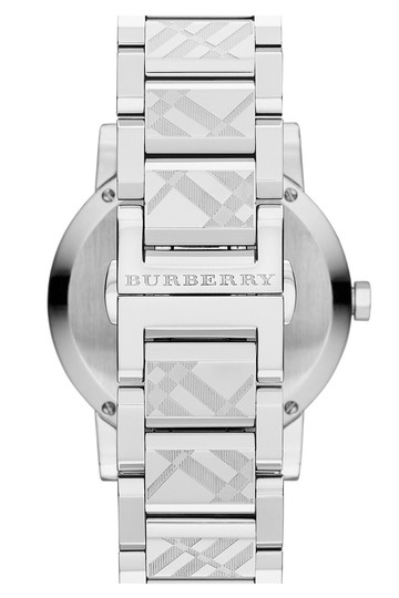 Burberry Brand New and Authentic Burberry Silver Unisex Watch BU9037