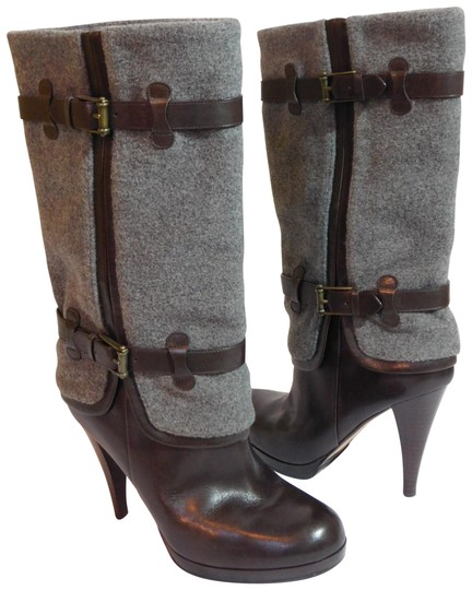 Preload https://img-static.tradesy.com/item/22650490/cole-haan-brown-air-kennedy-flannel-and-leather-bootsbooties-size-us-9-regular-m-b-0-1-540-540.jpg