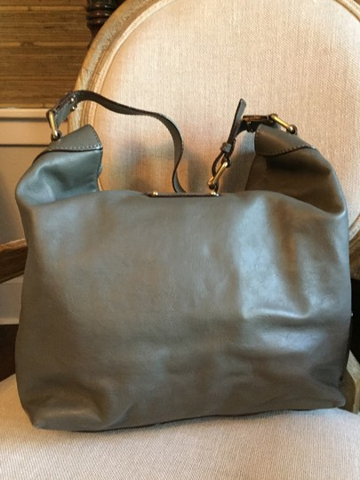 Marc Jacobs Leather Gold Hardware Hobo Bag