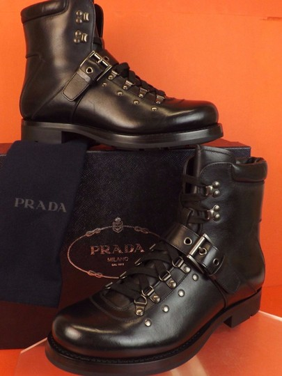 Preload https://img-static.tradesy.com/item/22650698/prada-black-leather-belted-buckle-lace-up-shearling-combat-boots-6-us-7-shoes-0-0-540-540.jpg