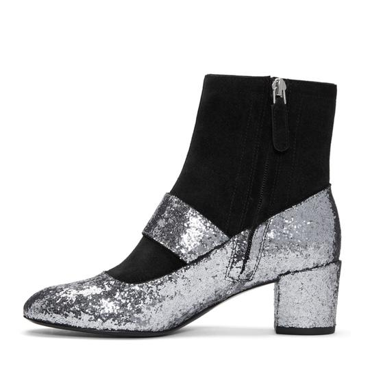 Marc Jacobs Black/Silver Boots