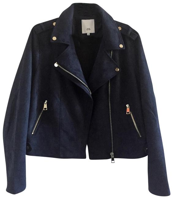 Preload https://img-static.tradesy.com/item/22650757/river-island-navy-faux-suede-jacket-size-14-l-0-3-650-650.jpg