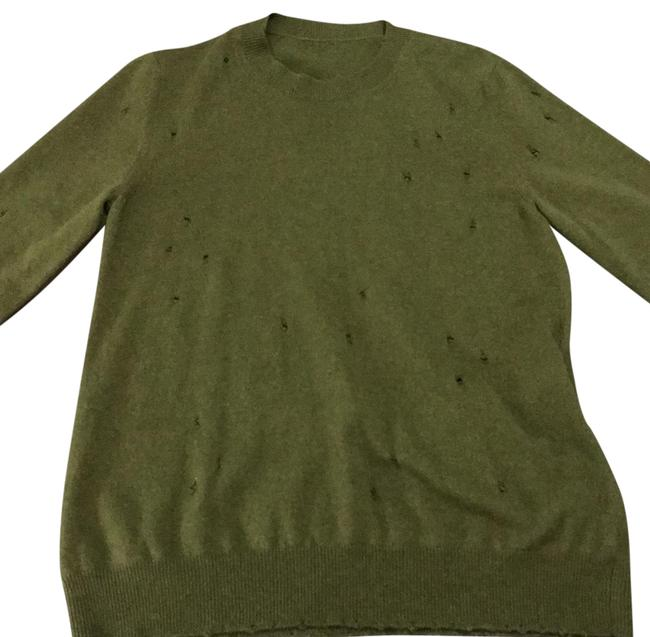 Preload https://img-static.tradesy.com/item/22650862/givenchy-distressed-army-green-sweater-0-1-650-650.jpg