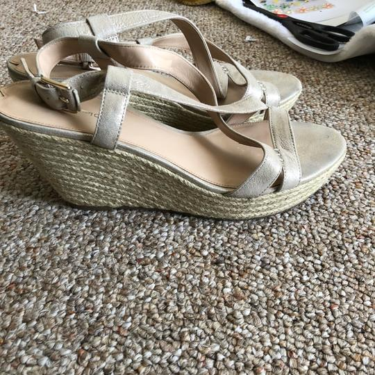 Via Spiga nude Wedges