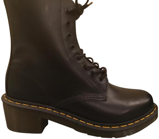 Dr. Martens Combat Leather Never Worn Cool black Boots