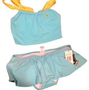 Juicy Couture **Never been used** Juicy Couture Blue and Yellow Tankini Swimsuit