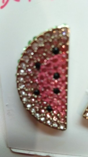 Betsey Johnson Betsey Johnson New Watermelon Earrings