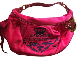 Juicy Couture Satchel in pink and blue