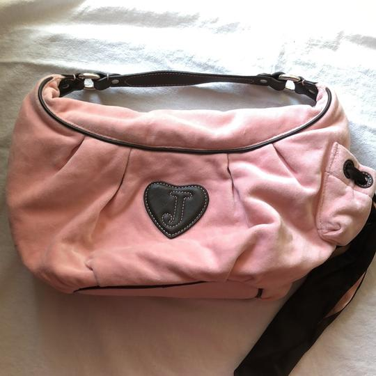 Juicy Couture Satchel in pink and brown