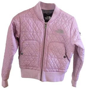 The North Face Bomber Quilted Purple Jacket