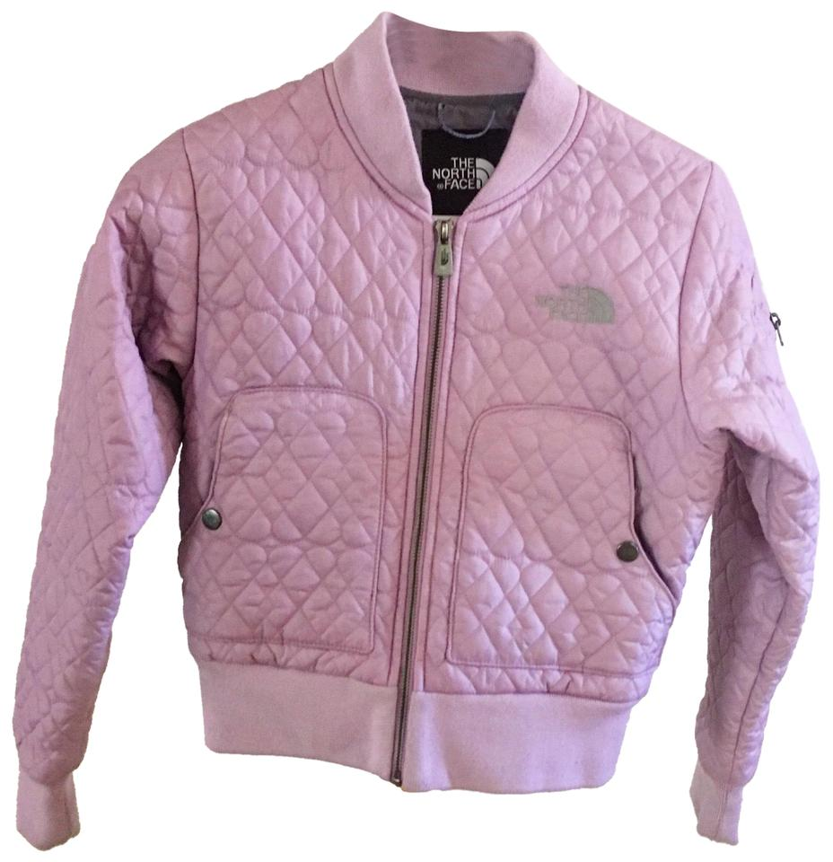 The North Face Purple Quilted Crop Jacket Size 0 Xs Tradesy