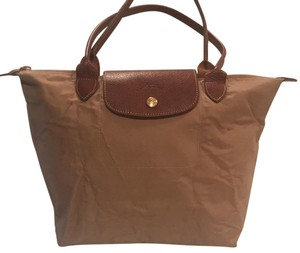 Longchamp Tote in Tan