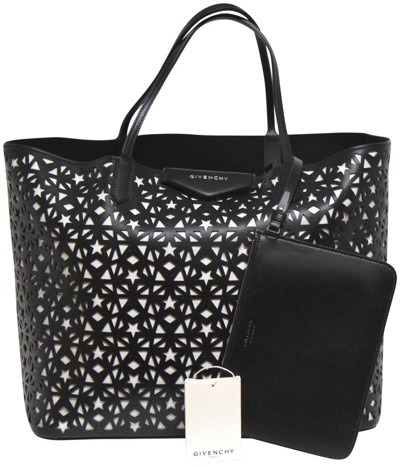 Givenchy Tote In White Black