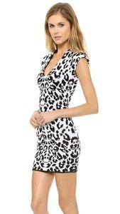 Torn by Ronny Kobo Bodycon Leopard Mini Party Cocktail Dress