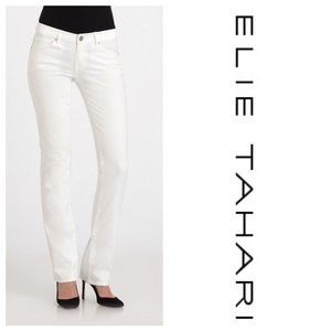 Elie Tahari Straight Leg Jeans-Light Wash