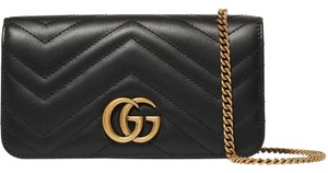 Gucci Gg Marmont Mini Quilted Shoulder Bag