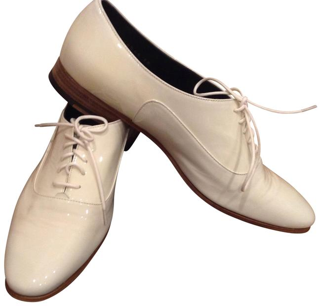 Item - White Patent Leather Baltic Parcelana Formal Shoes Size US 7.5 Regular (M, B)