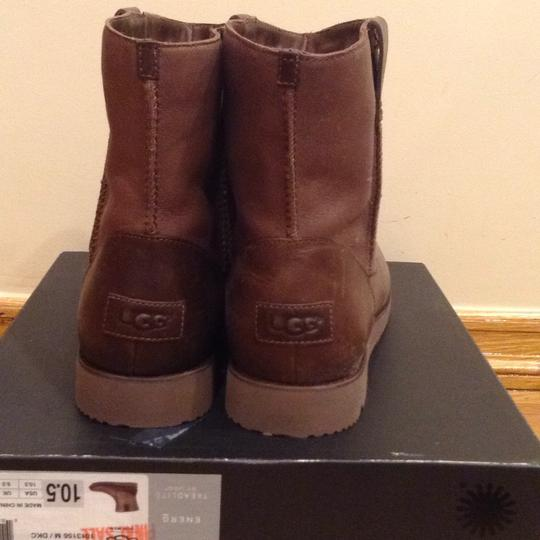 UGG Australia Brown Leather Boots Image 1