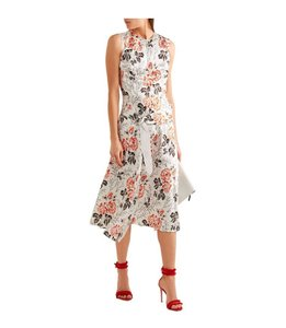 Floral ,white Maxi Dress by Victoria Beckham