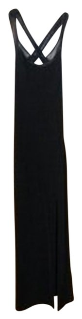Preload https://item3.tradesy.com/images/black-stretch-evening-maxi-formal-dress-size-2-xs-22652-0-1.jpg?width=400&height=650