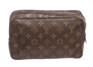 Louis Vuitton Louis Vuitton Monogram Canvas Leather Toiletry MM Pouch Bag